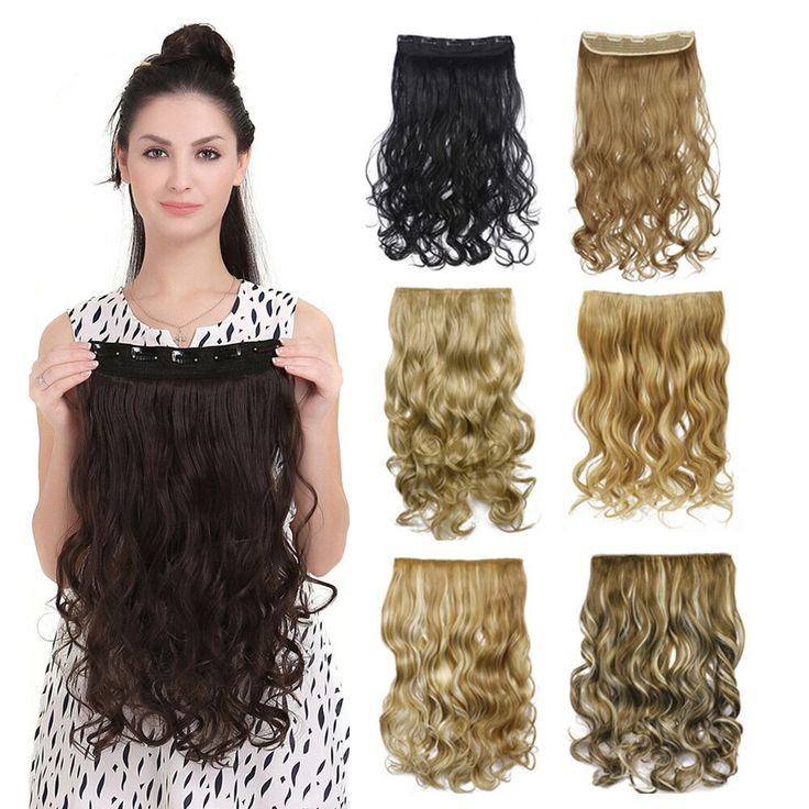 50 colors!!! Curly Clip In Hair Extension Women Natural  Synthetic Hairpiece Hair Style  Wavy Curl Clip On Hair Extensions 888 * Continue to the product at the image link.
