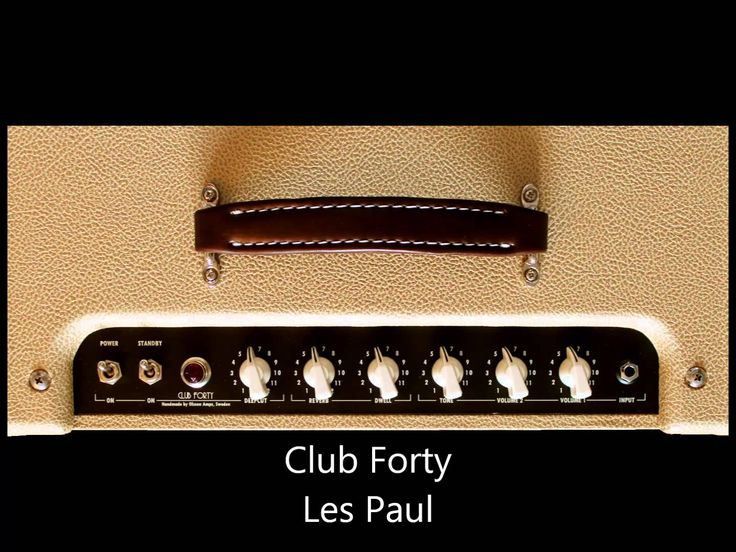 Olsson Amps - Club Forty Sound Clip