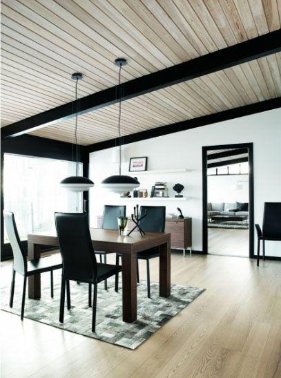 lambris au plafond une id e d co originale d couvrir. Black Bedroom Furniture Sets. Home Design Ideas
