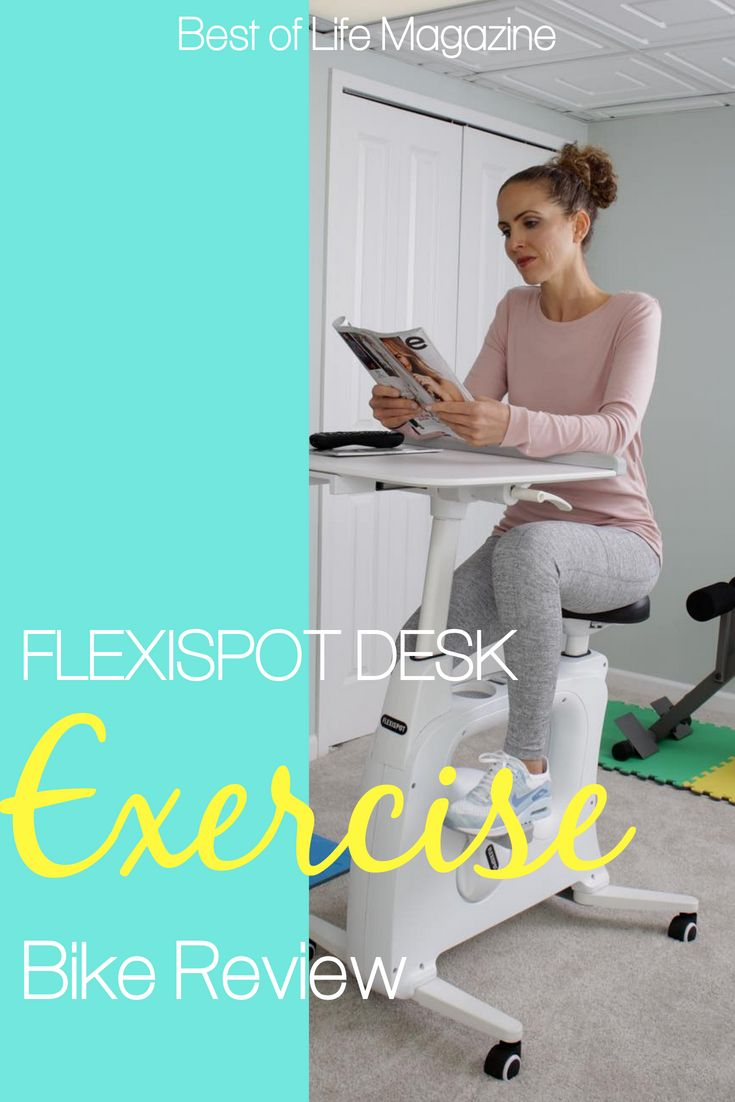 Use The Flexispot V9 Desk Exercise Bike To Not Only Stay Healthy