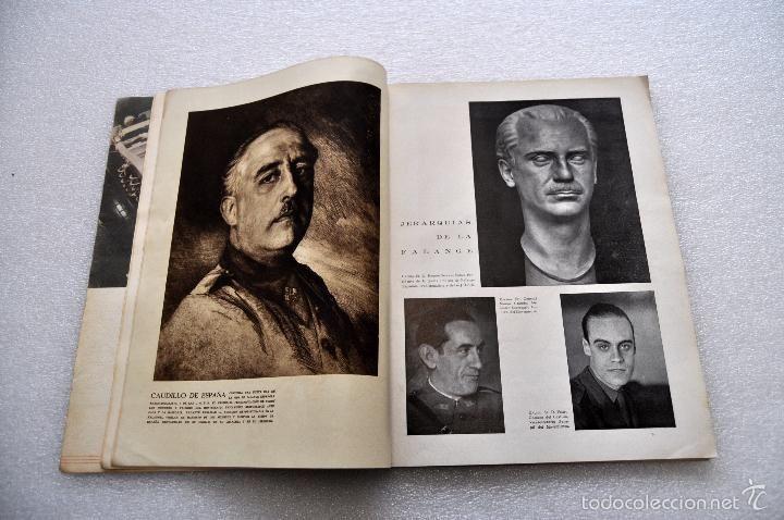 Coleccionismo de Revistas y Periódicos: REVISTA VERTICE. JULIO DE 1939. NUMERO 24. REVISTA DE FALANGE ESPAÑOLA. GUERRA CIVIL - Foto 5 - 56754036