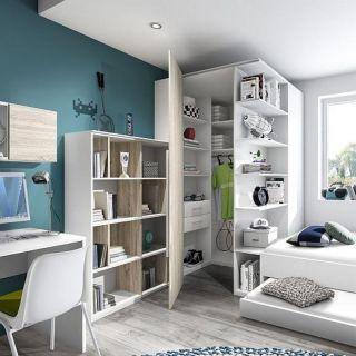 Eckkleiderschrank  En iyi 17 fikir, Eckkleiderschrank Kinderzimmer Pinterest'te