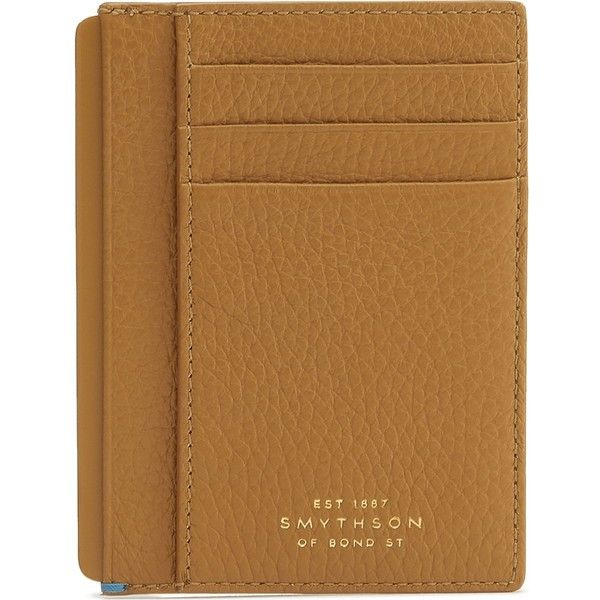 Smythson Burlington leather card and note holder ($240) ❤ liked on Polyvore featuring men's fashion, men's bags, men's wallets, mens travel wallet, mens blue leather wallet, mens leather travel wallet, blue mens wallet and mens leather wallets