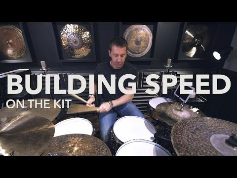 DRUM LESSON by Mike Johnston: Building Speed Around The Kit - YouTube