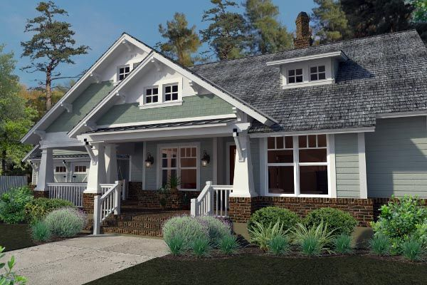As 25 melhores ideias de craftsman farmhouse no pinterest for Piani casa bungalow cottage