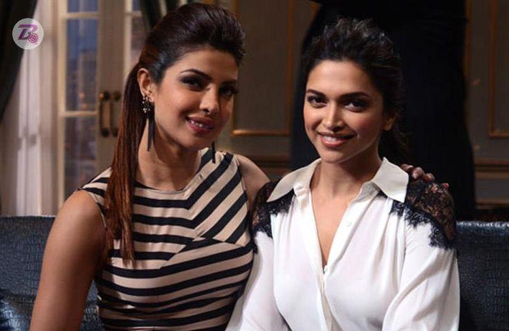 What's so serious between Priyanka Chopra and Deepika Padukone?