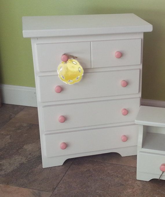 Wooden Chest Of Drawers S Doll Clothes Dresser American Made Amish Built Dolls 18 Play