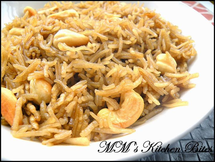 MM's Kitchen Bites: Meethe Chawal /Gur Waley Chawal (Sweet Jaggery Rice)..Happy Baisakhi!!