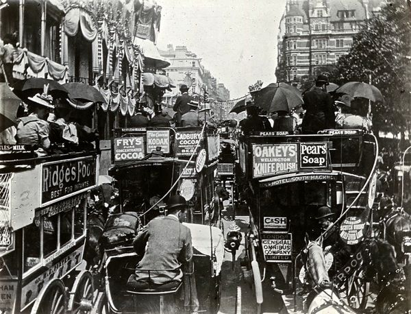 glass slides once used for magic lantern shows by the London & Middlesex Archaeological Society at the Bishopsgate Institute A879