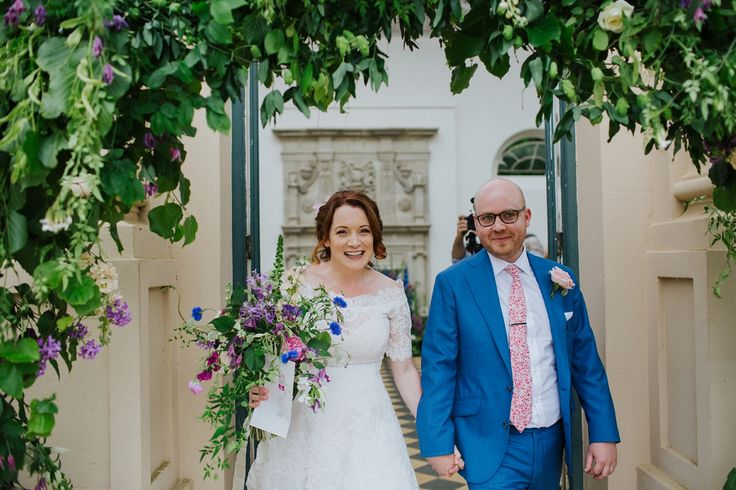 Stunning wedding held at Wrest Park, planned and styled by UK wedding planner Pudding Bridge. www.puddingbridge.co.uk