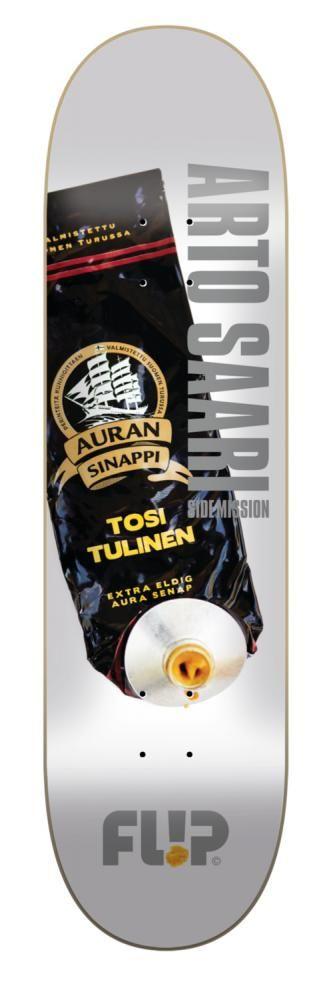Flip skateboard deck - Arto Saari - Auran Sinappi - Skeittikauppa.com