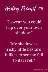 May 2017 Writing Prompt from Ruby Rumsey