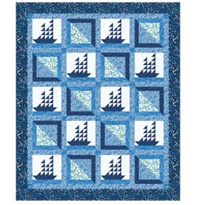 FREE PATTERN: Smooth Sailing (from The Quilter Magazine)