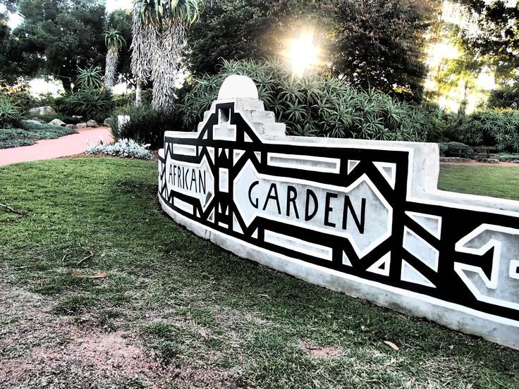 The Afrikan Garden at Fagan Park