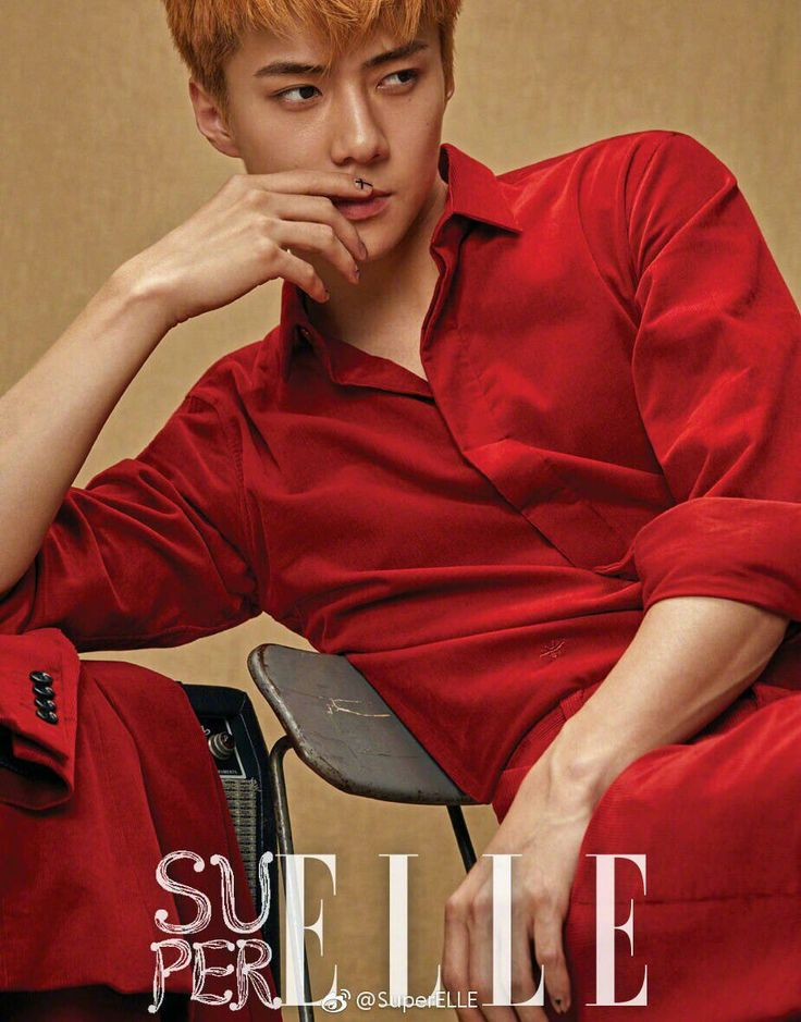 [Official] SuperELLE Weibo Update with SEHUN for SuperELLE CHINA MAGAZINE