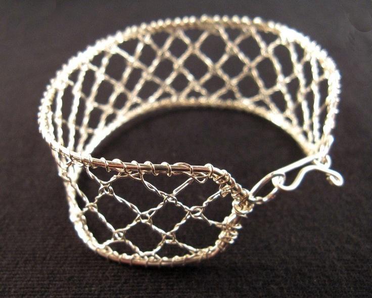 New wire lace bracelet (Customer Design) - Lima Beads