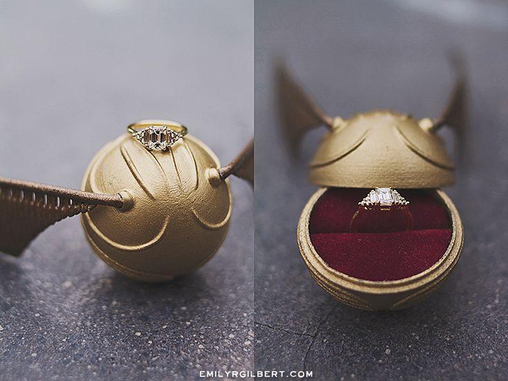 proposal in entrance of hogwarts fort! – wizarding world engagement photographs – emil…