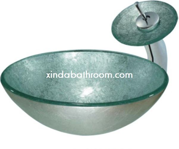 Xinda Bathroom Cabinet Co.,LTD Provide The Reliable Quality Bathroom Vanity  Bowl And Vessel. Glass Bowl SinkGlass ...