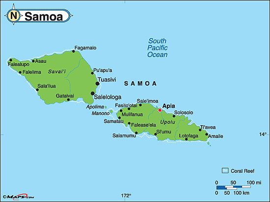Best Polynesian Pride Images On Pinterest South Pacific - Samoa map