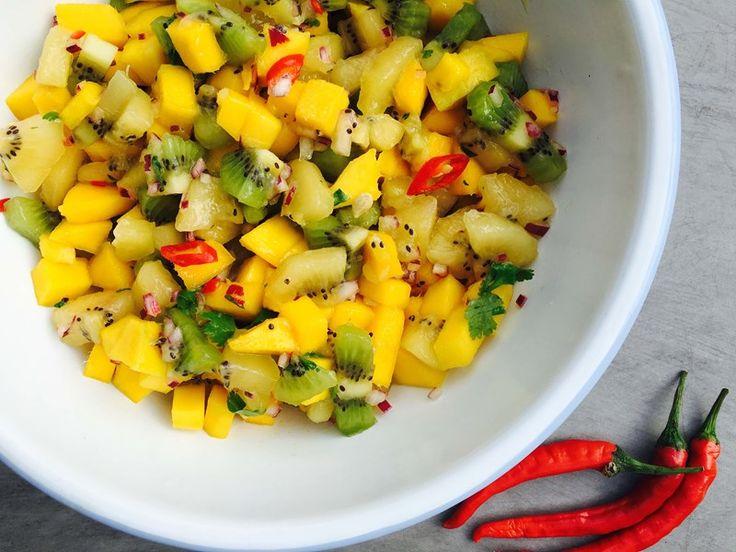Kiwifruit & Mango Salsa
