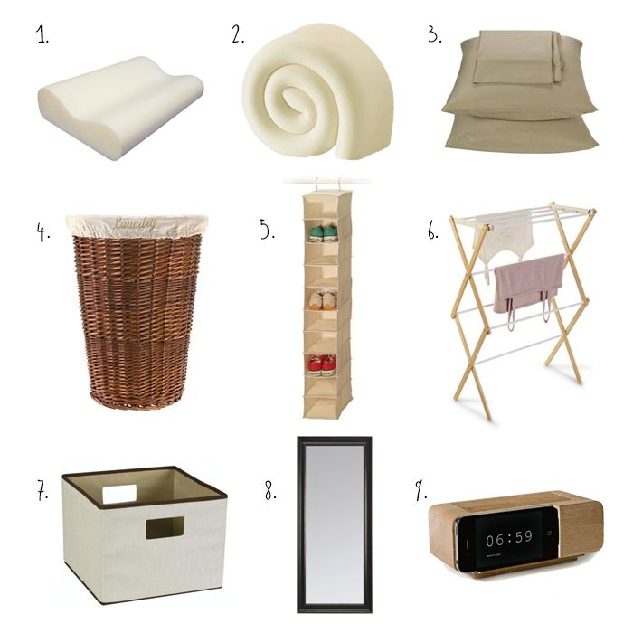 1000 ideas about first college apartment on pinterest On bedroom necessities
