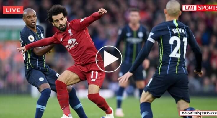 Manchester City Vs Liverpool English Premier League Sporting Live Sports