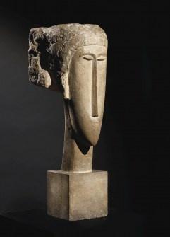 Tete, 1910-1912 // Sculpture By Modigliani