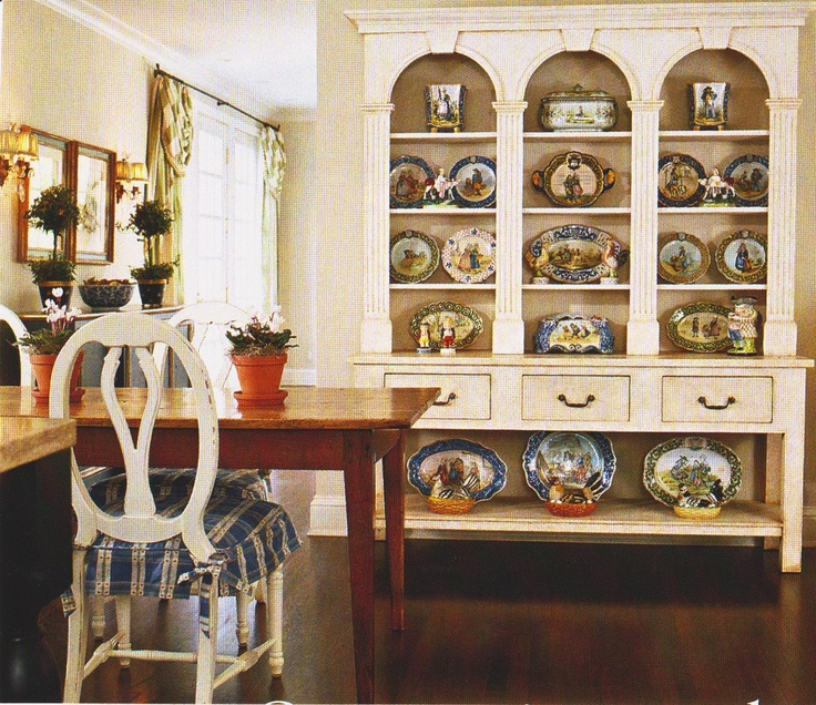 Love The Open Hutch For Displaying China