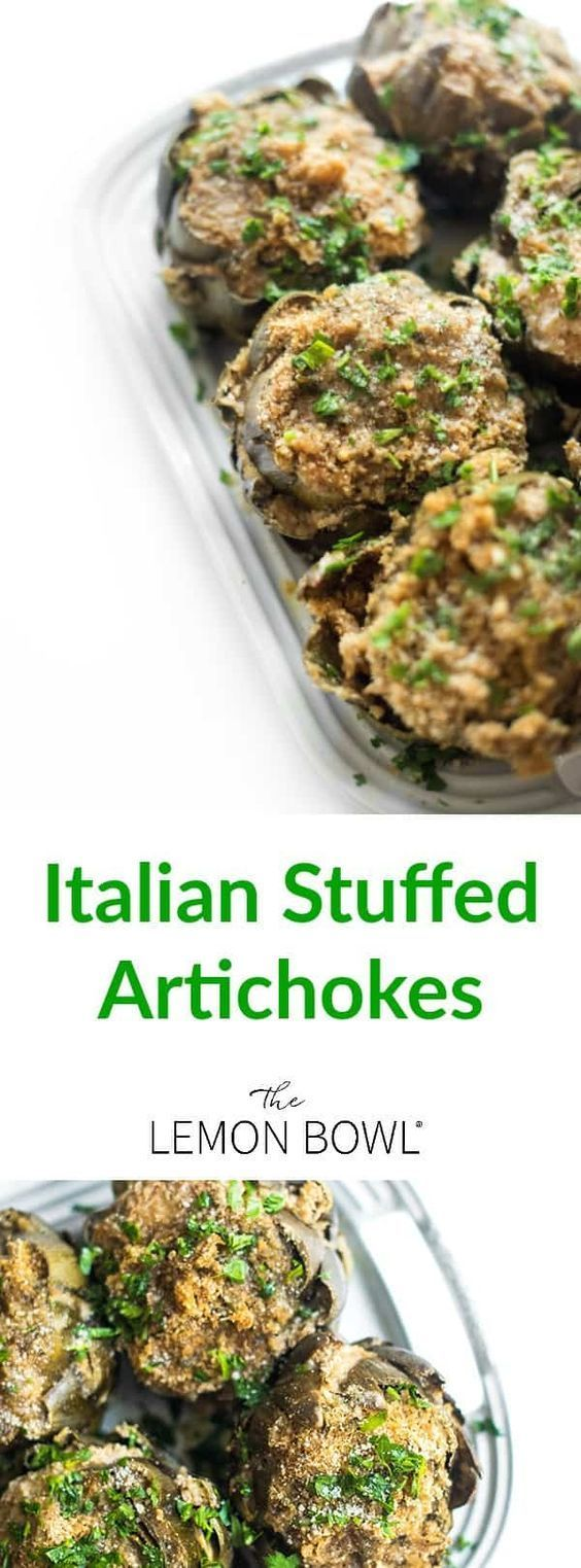 These Italian stuffed artichokes are made with simple pantry ingredients and result in the most comforting, crowd-pleasing side dish recipe.