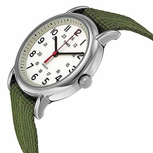 The new cool, dressed in casual. TIMEX Weekender Olive. Great style, great colors, great quality. #TIMEX #Weekender   #KhaValeri http://www.pinterest.com/KhaValeri/    kha_amz_TIMweek0305_v24