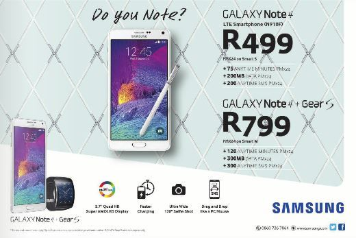In the mood for a really #4u deal?  The Galaxy Note4 just 4U. #DoYouNote