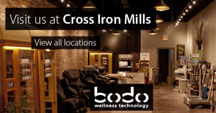 BODO Wellness Technology: CrossIron Mills Mall www.bodo.ca #massagechair #farInfraredSpa #vibrationmachine #YYC