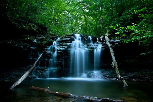 2. Ganoga Falls at Ricketts Glen State Park