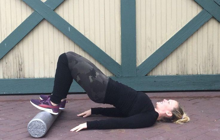 4 Ways To Firm Your Butt Using A Foam Roller  http://www.prevention.com/fitness/firm-your-butt-with-a-foam-roller