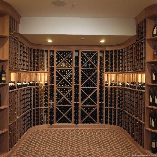 gallagher custom wine cellar home and garden design ideas