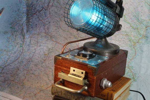 Baron Harkonens night light version 1 steampunk industrial