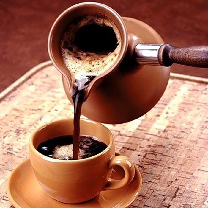 Кофе по-турецки / Едальня