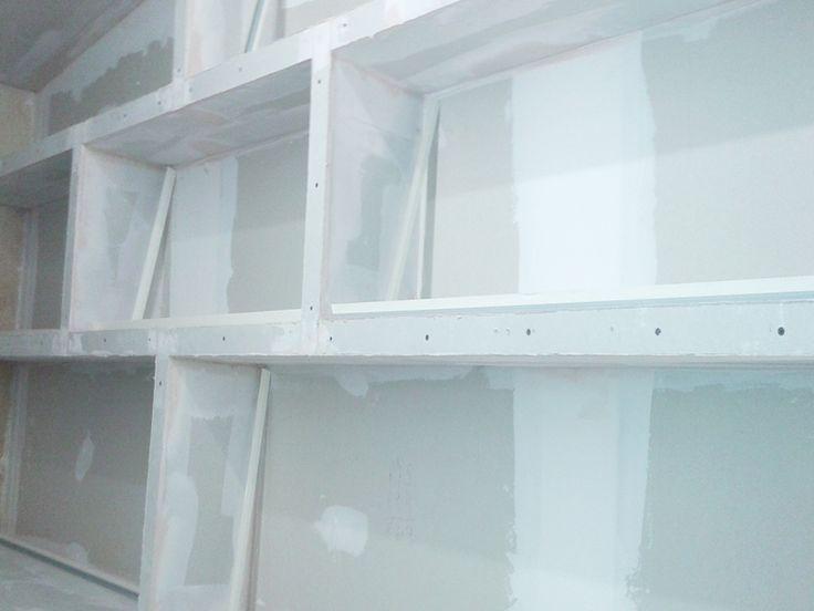 1000 images about mueble pladur para barra de bar on - Placa de pladur ...