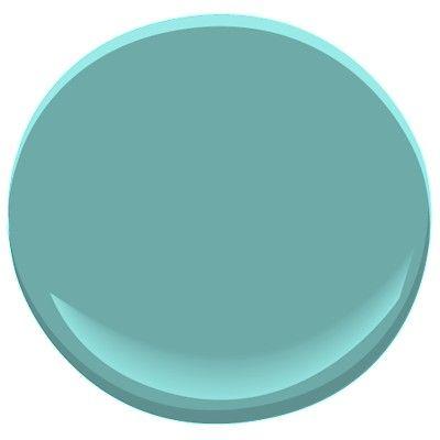 Benjamin Moore, Florida Keys Blue