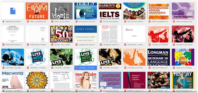 More than 1000 books in English language