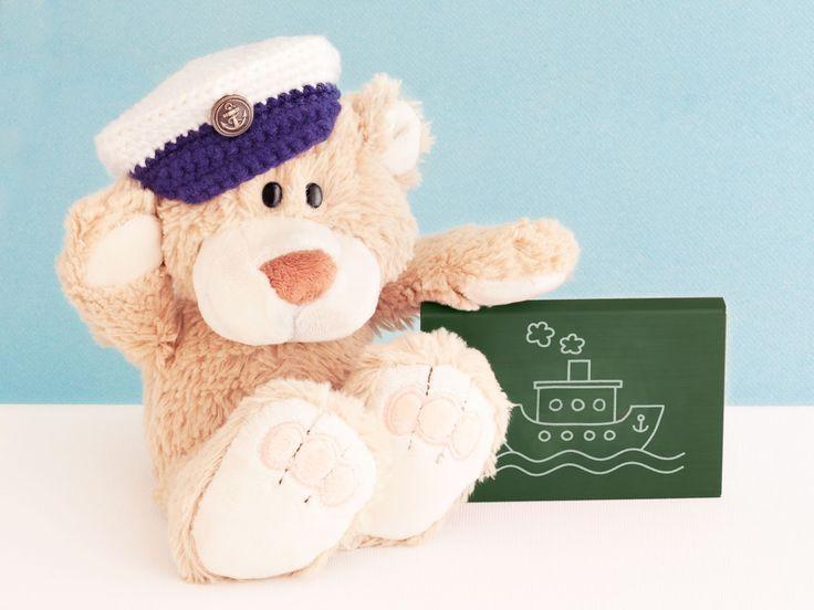 Gorra de Capitán a Crochet para tus Amigurumis - Patrón Gratis en Español