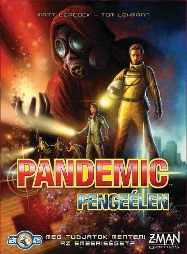 Pandemic (magyar): Pengeélen (On the Brink) társasjáték - Szellemlovas társasjáték webshop