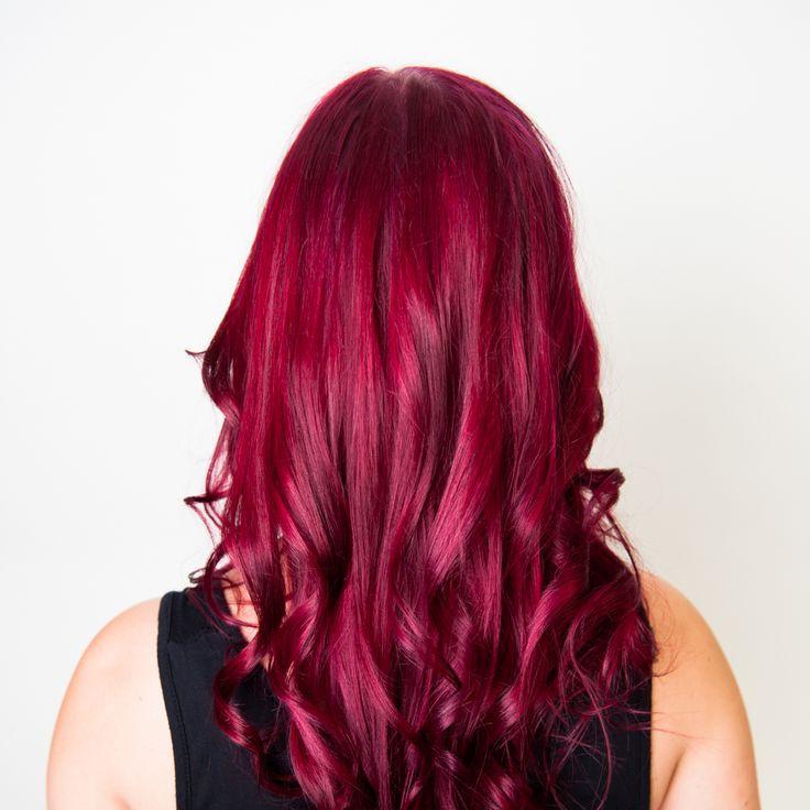 ruby conditioner kit hair color pelo rojo cabello