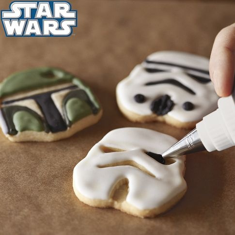 Star wars cookie cutters  Come to the dark side
