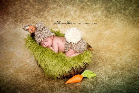 Newborn Photo Prop Baby Boy Photo Prop Crochet by PropWiseBaby