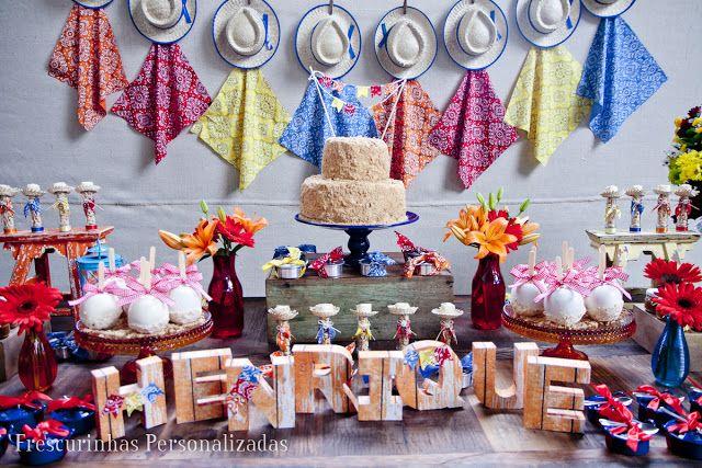Idéias de decoração Festa Junina