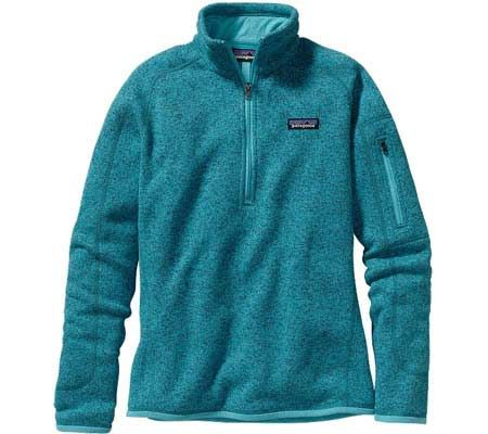 Patagonia Better Sweater 1/4 Zip 25617 - Ultramarine - FREE Shipping