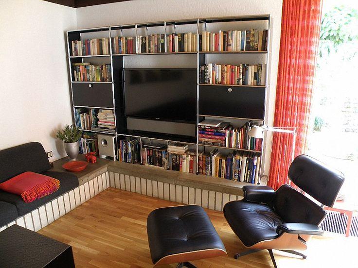 23 best usm haller bei quadrat images on pinterest furniture modular furniture and sectional. Black Bedroom Furniture Sets. Home Design Ideas
