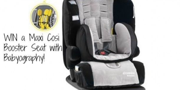 WIN a Maxi Cosi Goliath Booster Car Seat from Babyography | Stay at Home Mum