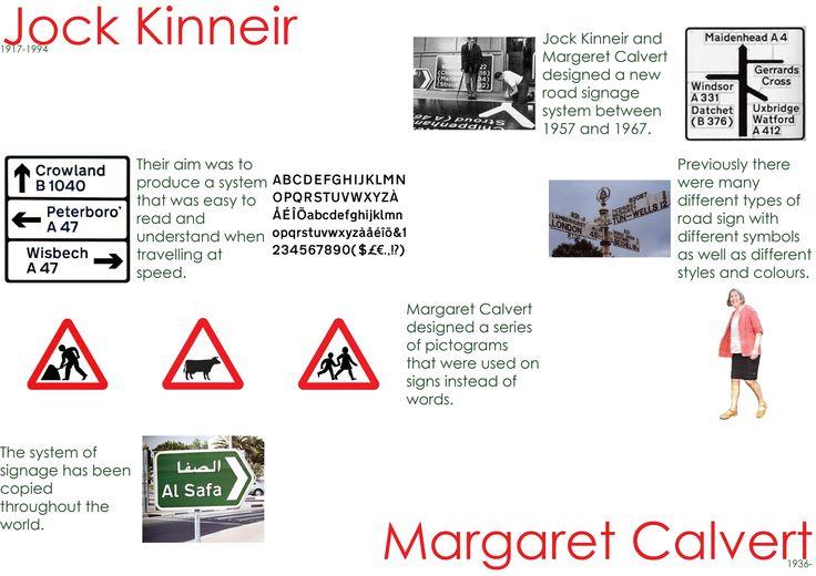 Jock Kinneir and Margaret Calvert